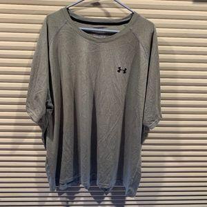 Under Armour Loose Fit Heat Gear T-shirt 4XL Gray